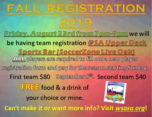 Registration Event