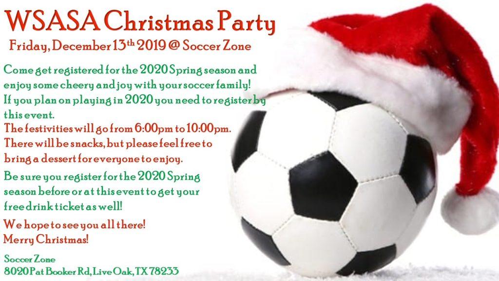 2019 WSASA Christmas Party
